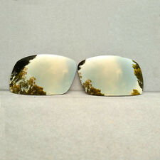 Bronze Gold Mirrored Replacement Lenses for-Oakley Oil Drum Sunglasses Polarized