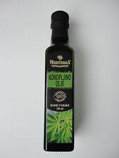100% Organic Natural Sativa Hemp Seed Oil 2019 Cold Pressed 250ml 8.5 Oz. bottle
