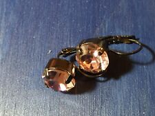 Twilight Vintage Swarovski Elements Sparkling Rhinestones Earrings