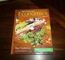 Krugman's Economics for AP Second Edition Ray / Anderson Hardcover Textbook ~New
