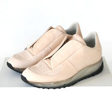 MAISON MARTIN MARGIELA nude natural leather shoes future low top sneakers 39 NEW