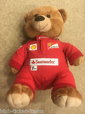 Genuine Ferrari Driver Teddy Bear The Official Product BRAND NEW for Collectors!