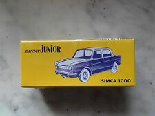 dinky atlas  junior  simca 1000 speciale noel