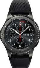 Samsung-Gear S3 Frontier Smartwatch 46mm Dark Grey -SM-R760NDAAXAR GPS Cellular