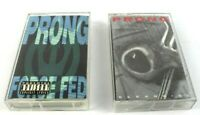 Prong Cassettes Force Fed Cleansing Lot of 2