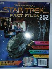 THE OFFICIAL STAR TREK FACT FILES #252