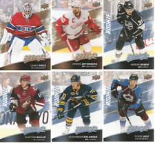 2017-18 Upper Deck MVP Hockey - Rookie and SP Cards - Choose Card #'s 201-250