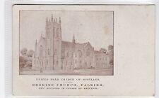 ERSKINE U.F. CHURCH, FALKIRK: Stirlingshire postcard (C26234)