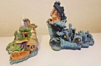 TWO Olszewski Peter Pan Displays With NINE Figures Goebel Disney
