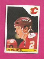 1985-86 OPC  # 237 FLAMES AL MACINNIS  ROOKIE EX CARD (INV# C4973)