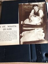 M3-3 Ephemera Picture 1935 St Neots Quads Mrs Miles