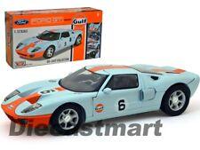 Ford GT Concept #6 Année 2004 Gulf Bleu / Orange 1 12 MotorMax
