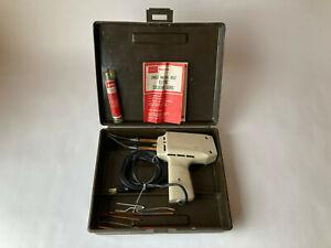 Vintage Tested CRAFTSMAN #200 230/150W Hi -Lo Soldering Gun w/ Work Light TESTED