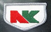 "NK SEED EMBROIDERED SEW ON PATCH FARM FARMING ADVERTISING 2 1/2"" x 1 1/2"""