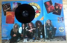 """GUNS N ROSES WELCOME TO THE JUNGLE 12"""" VINYL POSTER SLEEVE NIGHTRAIN YOURE CRAZY"""