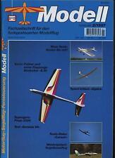 Fachzeitschrift Modellflug 2/97 Supergyro Piezo 3000 Genesis 96 Corsair Fokker