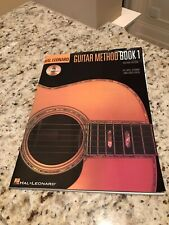 Guitar Method Book 1 Instructional Book By Hal Leonard, Learn To Play Guitar.