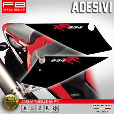 Adesivi Stickers Kit HONDA CBR 954 RR FIREBLADE TABELLA NUMERI PLATE CODONE REAR