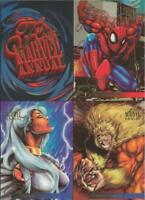 ORIGINAL Vintage 1995 Fleer Flair Marvel Uncut Promo Card Sheet Spiderman