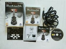 ROCKSMITH AUTHENTIC GUITAR GAME PS3 & REAL TONE CABLE BOXED