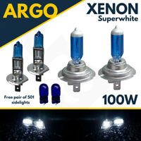 H1 H7 T10 100w Xenon Hid Super White Upgrade Set Head Light Bulbs - Vauxhall
