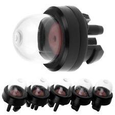 5pcs Petrol Snap in Primer Fuel Bulb Pump for Stihl Ryobi WALBRO HUSQVARNA Black