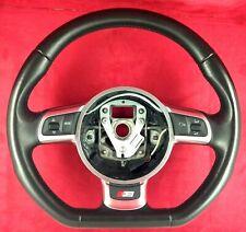 Genuine OEM Audi flat bottom steering wheel 8J0419091B. S3 A3 TT MK2 8P 8J.   3A