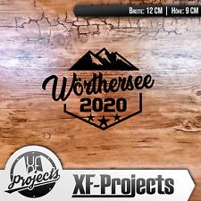 Wörthersee Tour 2020 Emblem SCHWARZ Sticker / Autoaufkleber - by XF-Projects