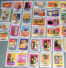 Vintage Midcentury Atomic Doll & Toys Trading Cards Complete 66 Card Set