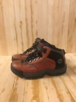 Timberland Youth Hiker Black/Brown Grade-School Hiking Boy's Boots Size 5.5Y