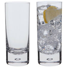 Dartington Crystal Exmoor Set of Two Highball Glasses (BOXED)