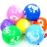8 Dinosaur Latex Balloons Birthday Party Baby Shower Decoration