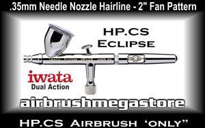 Iwata Eclipse Airbrush HP.CS .35mm ( Airbrush Only ) + Free Insured Freight