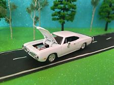 1970 Dodge Super Bee, Route 66, 1/64 Scale, Opening Hood, Very Detailed