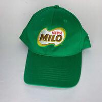 Nestle Milo Baseball Hat Cap Green Collectible Advertising