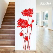 WANDTATTOO Wand Aufkleber 51 Blumen K01 Sticker Blume Florales redcollection