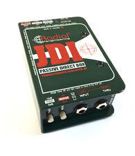 Radial JDI Direct Box Passive Jensen Transformer Equipped DI  in box!