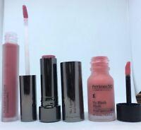 PERRICONE MD Beautiful Lips & Cheeks Set Trio Blush Lipstick Lipgloss Boxed New