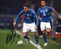 Foto Autografo Calcio Federico Chiesa Asta di Beneficenza Soccer Signed Sport