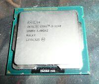 Intel Core i3 3.40GHz Dual Core SR0RH Processor CPU i3-3240 Socket 1155
