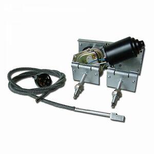 Power Windshield Wiper Converson Kit - Single Arm 2 Speed Hot Rod Muscle Car GM