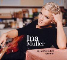 """INA MÜLLER """"DAS WÄR DEIN LIED GEWESEN"""" CD NEU"""