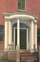 Salem Massachusetts c1910 Postcard Tucker Rice Doorway