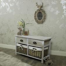Cassettiere french country grigi camera da letto