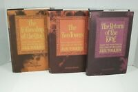 J.R.R. Tolkien The Lord of the Rings 2nd Edition 1965 HCDJ Book Set with Maps