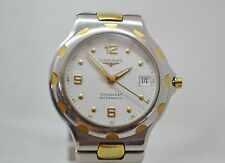 LONGINES CONQUEST AUTOMATIC Gold Plated & Steel Men's Watch