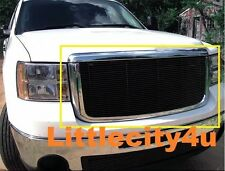 FOR 2007 2008 2009 2010 GMC Sierra 2500/3500 HD Black Billet Grille Insert