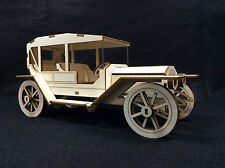 Laser Cut Wooden Panther De Ville Car 3D Model/Puzzle Kit ~ Vintage Car