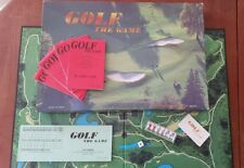 Vintage 1995 GOLF The Game Board Game 100% Complete Game Of Chance & Trivia