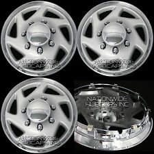 "Set of 4 FORD E150 Econoline VAN 15"" Hub Caps 5 Lug Wheel Rim Covers Center Hubs"